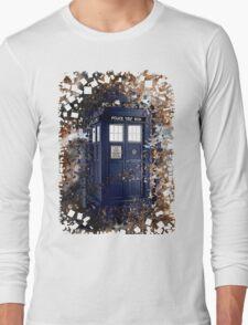 Police Box Tardis ~ Dr. Who Long Sleeve T-Shirt