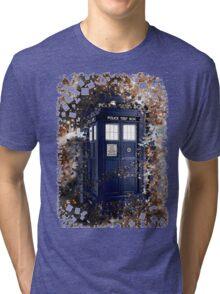 Police Box Tardis ~ Dr. Who Tri-blend T-Shirt