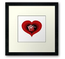 Delicious Valentine Framed Print