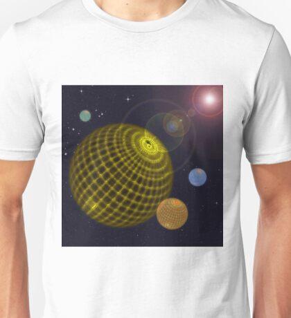 3D Planets Unisex T-Shirt