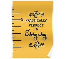 practically perfect Poster