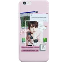 EUNWOO AESTHETIC PHONE CASE iPhone Case/Skin