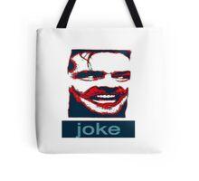 joker joke the shining  jack nicholson Tote Bag