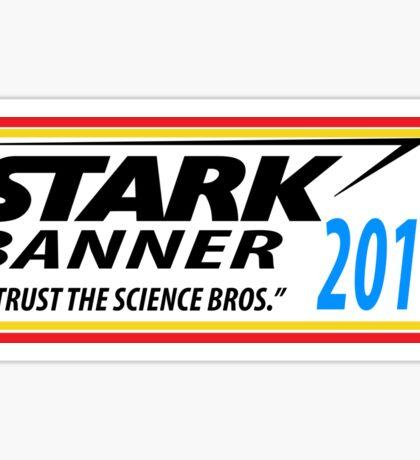 Stark/Banner 2016 Sticker