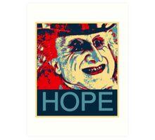 PENGUIN HOPE POSTER BATMAN  Art Print