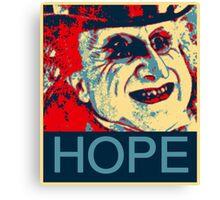 PENGUIN HOPE POSTER BATMAN  Canvas Print