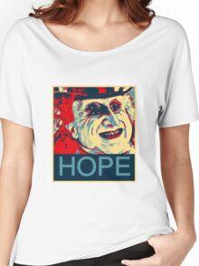 PENGUIN HOPE POSTER BATMAN  Women's Relaxed Fit T-Shirt