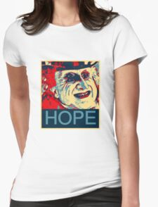 PENGUIN HOPE POSTER BATMAN  Womens Fitted T-Shirt