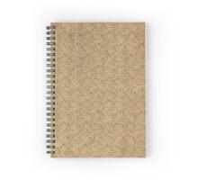 Vintage Design - Book Inlay  Spiral Notebook