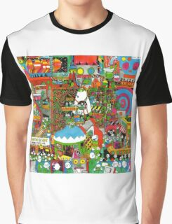 Pond Man, It Feels Like Space Again Album Art Graphic T-Shirt