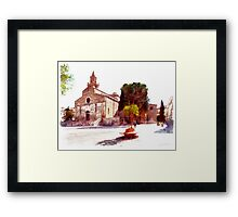 Teramo: cathedral Framed Print
