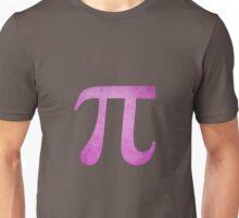 Magenta Pi Symbol Unisex T-Shirt