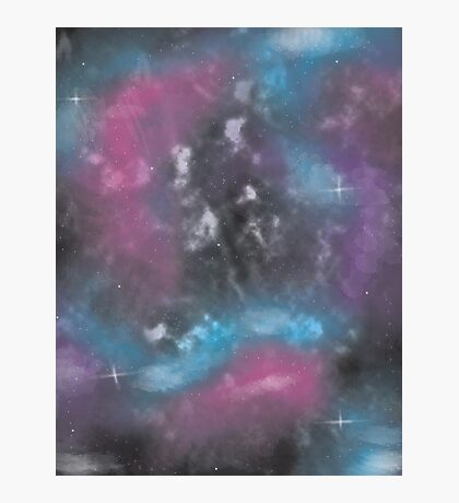 Dull Space Photographic Print