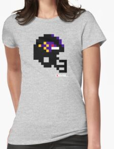 Tecmo Bowl - Baltimore - 8-bit - Mini Helmet shirt Womens Fitted T-Shirt