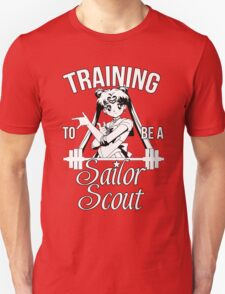 Training to be a Sailor Scout (Moon) T-Shirt