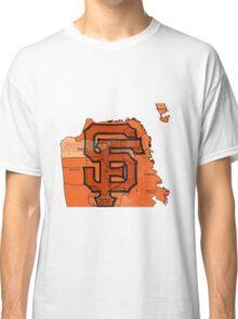 San Francisco Giants Map Classic T-Shirt
