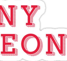 SUNY Oneonta - DECORATIVE  Sticker
