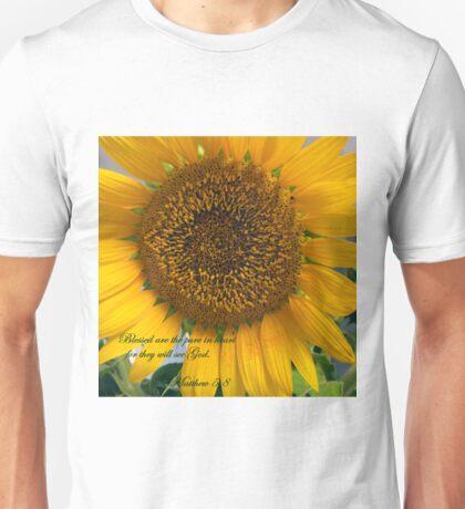 Matthew 5:8 Unisex T-Shirt