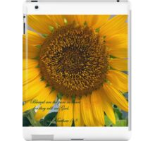 Matthew 5:8 iPad Case/Skin