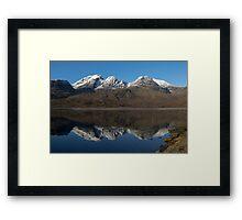 Bla Bheinn ( Blaven ) Reflections Framed Print