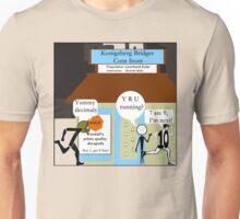 The 7 Bridges of Konigsberg Redux Unisex T-Shirt