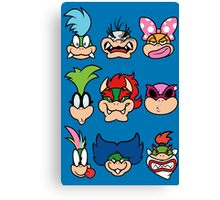 The Bowser Bunch Canvas Print
