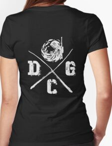 Dead Center Gaming  Womens Fitted T-Shirt