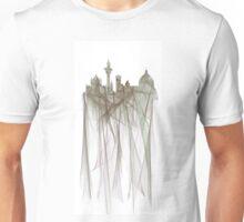 Florence, Italy Skyline - Silver cloak Unisex T-Shirt