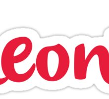 Oneonta - LOOSE SCRIPT Sticker