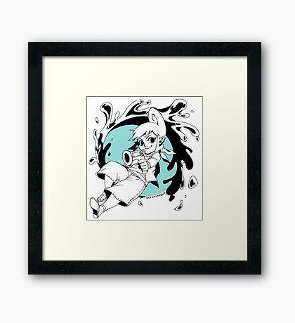 Hyrule Warriors Tetra Framed Print