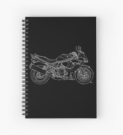 Suzuki GSX motorcycle Spiral Notebook