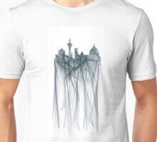 Florence, Italy Skyline - Ice Unisex T-Shirt