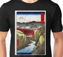Utagawa Hiroshige Inume Pass in Kai Province Unisex T-Shirt