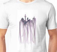 Florence, Italy Skyline - Byzantium Unisex T-Shirt