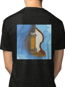 Awesome Bass, Hofner, Beatles instrument Tri-blend T-Shirt