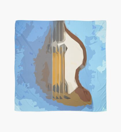 Awesome Bass, Hofner, Beatles instrument Scarf