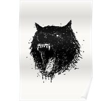 ANRGY WOLF Poster