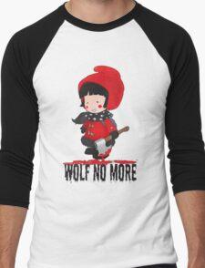 Wolf No More.Little Red Riding Hood Men's Baseball ¾ T-Shirt
