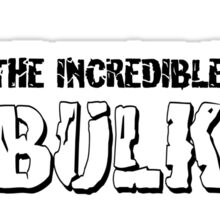 The Incredible Bulk Sticker