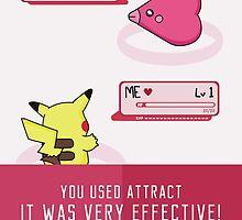 PokéLove Pink - Birthday Greeting Card by NerdCat
