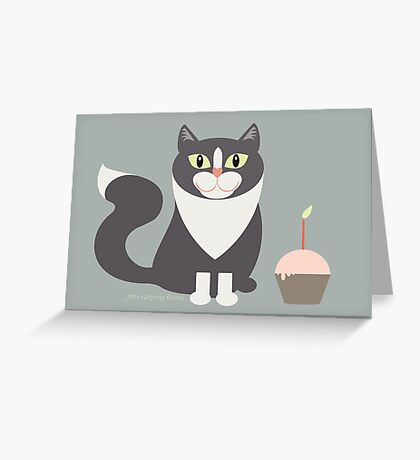 HAPPY BIRTHDAY CUPCAKE !!! Greeting Card