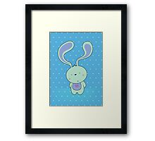 Is that a carrot in your pocket? Framed Print