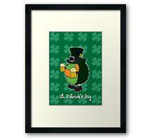 Patrick The Hedgehog Framed Print