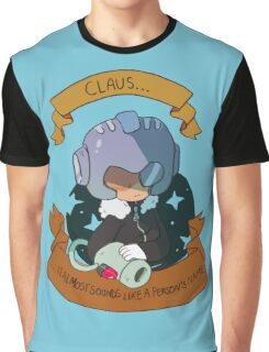 Monster Claus Graphic T-Shirt
