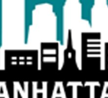 manhattan chamber of commerce logo Sticker