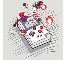 Mario - Game Boy Photographic Print