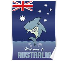 welcome to australia Poster
