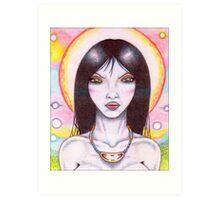 Melusine VII Art Print