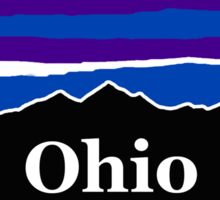 Ohio Midnight Mountains  Sticker