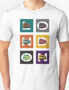 London Double Decker Unisex T-Shirt